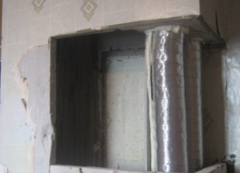Восстановление вентиляционного короба